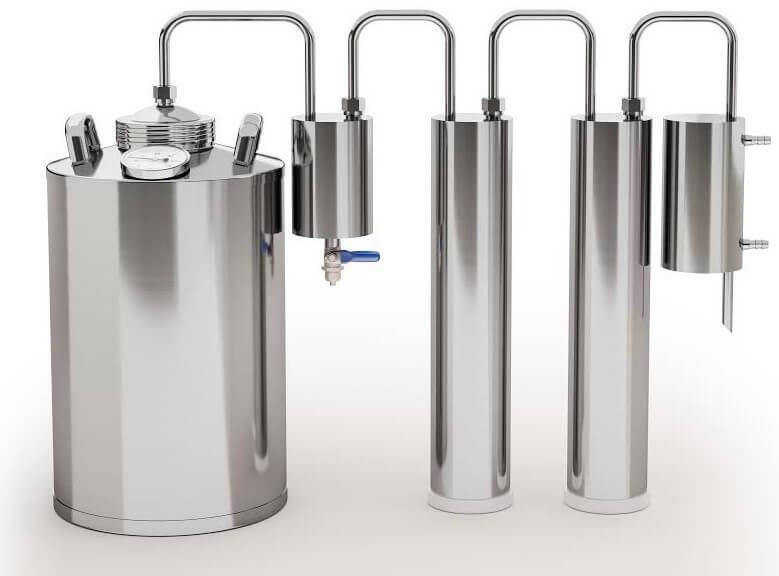 что лучше самогонный аппарат или ректификационная колонна
